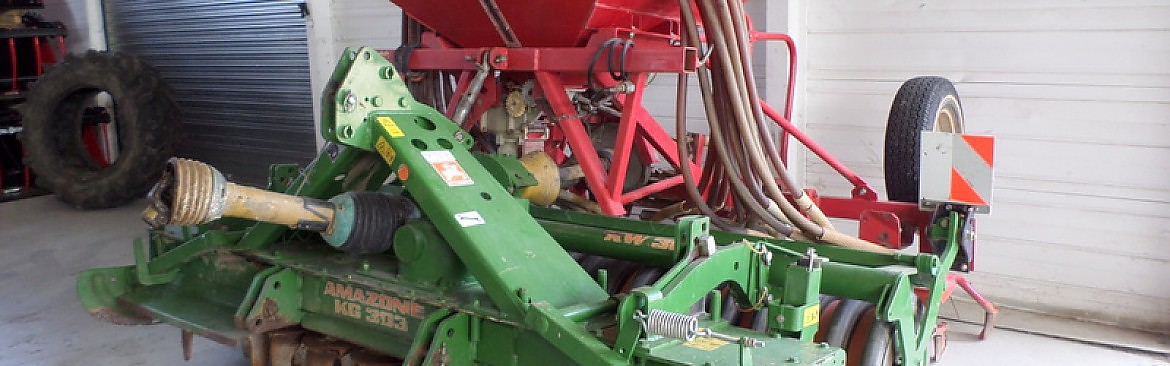 COMBINE AMAZONE CULTIMIX KG / LELY
